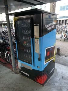 vending machine for bike lights