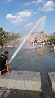 Causing a rainbow